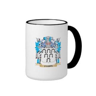 Escudo de armas de Ferris - escudo de la familia Taza De Café