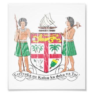 Escudo de armas de Fiji Foto