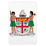 Escudo de armas de Fiji Iman De Vinilo