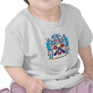 Escudo de armas de Findlay - escudo de la familia Camisetas