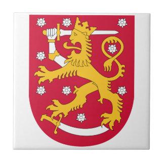 Escudo de armas de Finlandia Teja