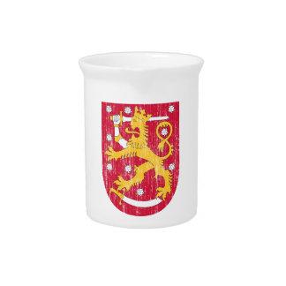 Escudo de armas de Finlandia Jarras De Beber