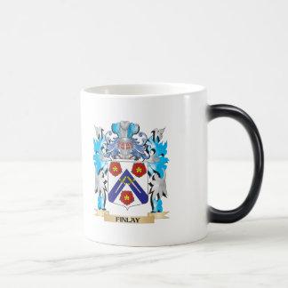 Escudo de armas de Finlay - escudo de la familia Tazas