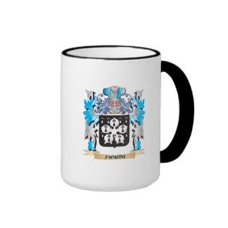 Escudo de armas de Fiorini - escudo de la familia Taza A Dos Colores