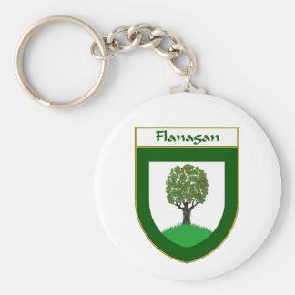 Escudo de armas de Flanagan/escudo de la familia Llaveros
