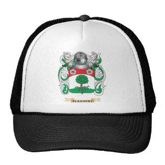 Escudo de armas de Flannery Gorras De Camionero