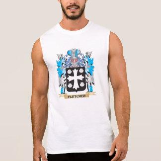 Escudo de armas de Fletcher- - escudo de la Camisetas Sin Mangas