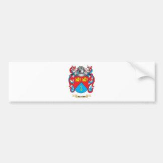 Escudo de armas de Flindt Pegatina De Parachoque