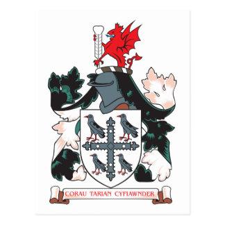 Escudo de armas de Flintshire Postales