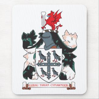 Escudo de armas de Flintshire Mouse Pads