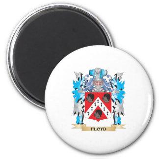 Escudo de armas de Floyd - escudo de la familia Iman De Frigorífico