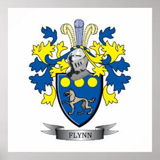Escudo de armas de Flynn Póster