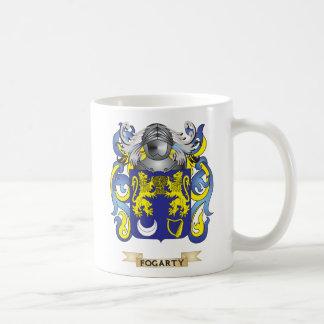 Escudo de armas de Fogarty Tazas De Café