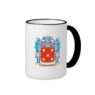 Escudo de armas de Fonseca - escudo de la familia Taza A Dos Colores