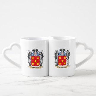 Escudo de armas de Fonseca - escudo de la familia Tazas Para Parejas