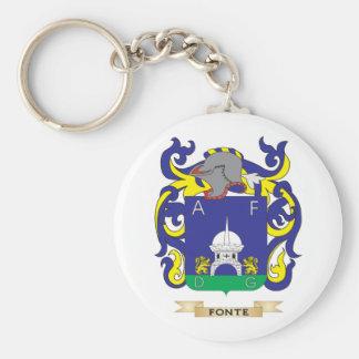 Escudo de armas de Fonte Llavero Personalizado