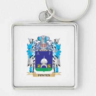 Escudo de armas de Fontes - escudo de la familia Llaveros
