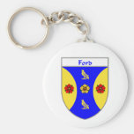 Escudo de armas de Ford/escudo de la familia Llavero