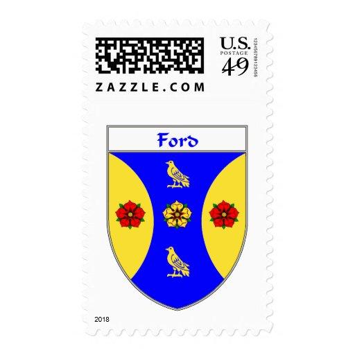 Escudo de armas de Ford/escudo de la familia Sello