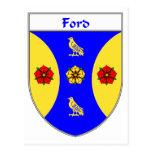 Escudo de armas de Ford/escudo de la familia Postal