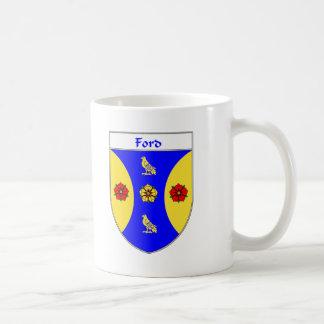 Escudo de armas de Ford/escudo de la familia Taza Clásica