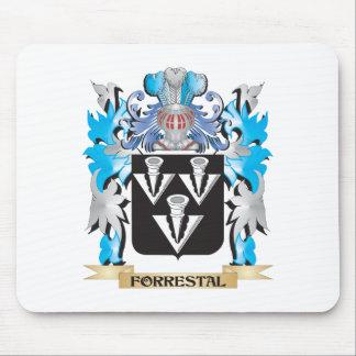 Escudo de armas de Forrestal - escudo de la Alfombrillas De Ratones