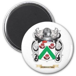 Escudo de armas de Forrester Imán Redondo 5 Cm