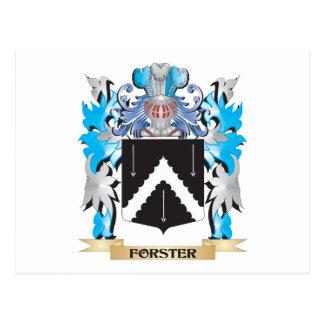 Escudo de armas de Forster - escudo de la familia Postal