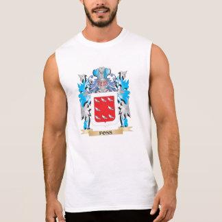 Escudo de armas de Foss - escudo de la familia Camiseta Sin Mangas
