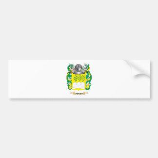 Escudo de armas de Fouet Etiqueta De Parachoque