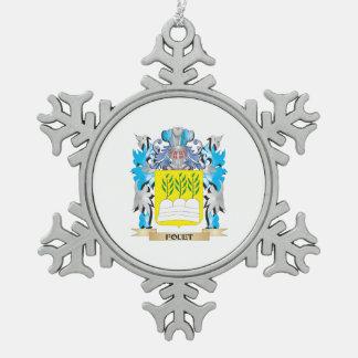 Escudo de armas de Fouet - escudo de la familia Adornos