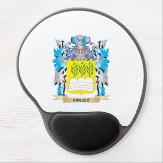 Escudo de armas de Fouet - escudo de la familia Alfombrillas De Ratón Con Gel