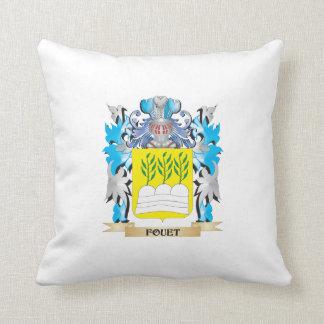 Escudo de armas de Fouet - escudo de la familia Almohadas