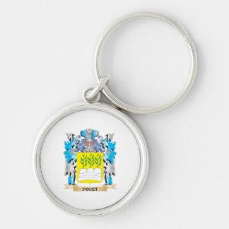 Escudo de armas de Fouet - escudo de la familia Llaveros Personalizados