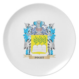 Escudo de armas de Fouet - escudo de la familia Plato Para Fiesta