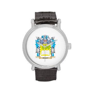 Escudo de armas de Fouet - escudo de la familia Reloj