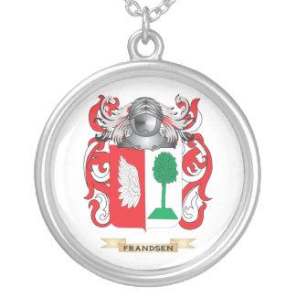 Escudo de armas de Frandsen Colgante Redondo