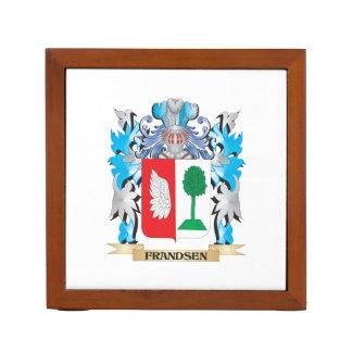 Escudo de armas de Frandsen - escudo de la familia