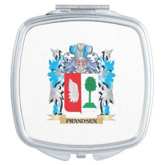 Escudo de armas de Frandsen - escudo de la familia Espejo De Viaje