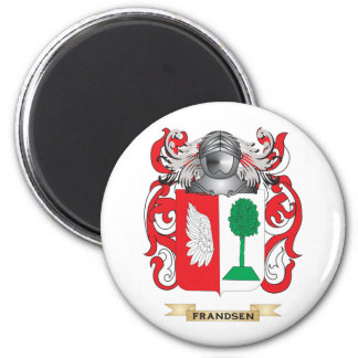 Escudo de armas de Frandsen Imán Redondo 5 Cm
