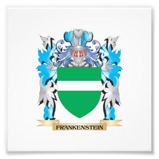 Escudo de armas de Frankenstein - escudo de la Impresion Fotografica