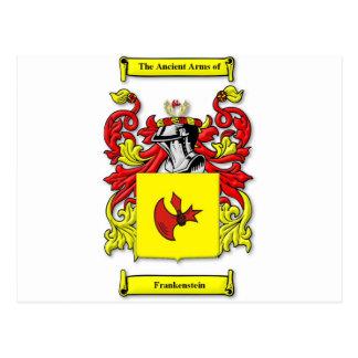 Escudo de armas de Frankenstein Tarjetas Postales