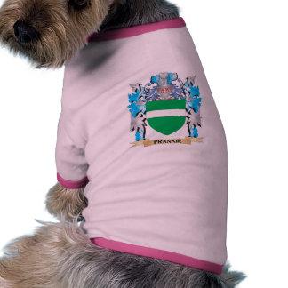 Escudo de armas de Frankie - escudo de la familia Camisas De Perritos