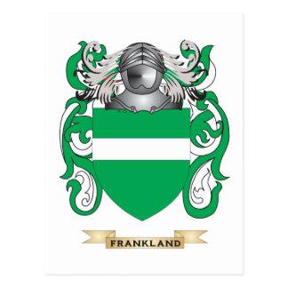 Escudo de armas de Frankland Postal