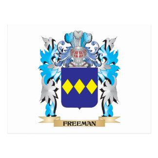 Escudo de armas de Freeman - escudo de la familia Postal
