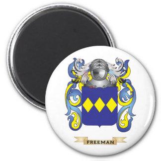 Escudo de armas de Freeman Imán Redondo 5 Cm