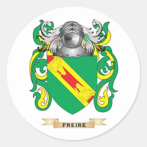 Escudo de armas de Freire Etiqueta Redonda