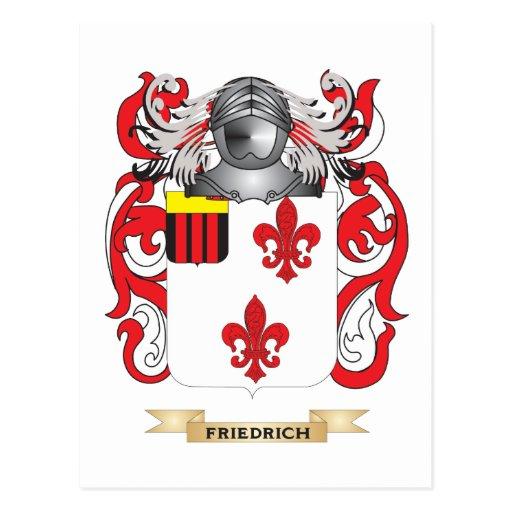 Escudo de armas de Friedrich Postal