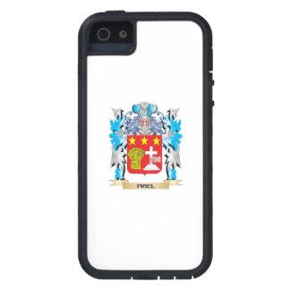 Escudo de armas de Friel - escudo de la familia iPhone 5 Case-Mate Fundas