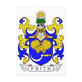 Escudo de armas de Frith Impresión En Lona Estirada